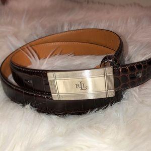 Lauren Ralph Lauren leather belts excellent cond
